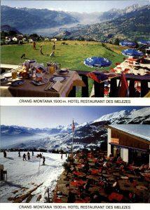 Cartes Postales Ancien Hotel des Melezes